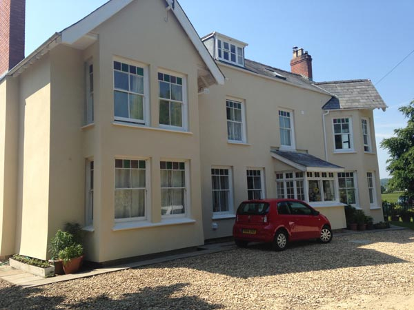 Period property external insulation