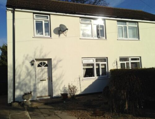New Vision Homes, Woking- EWI programme