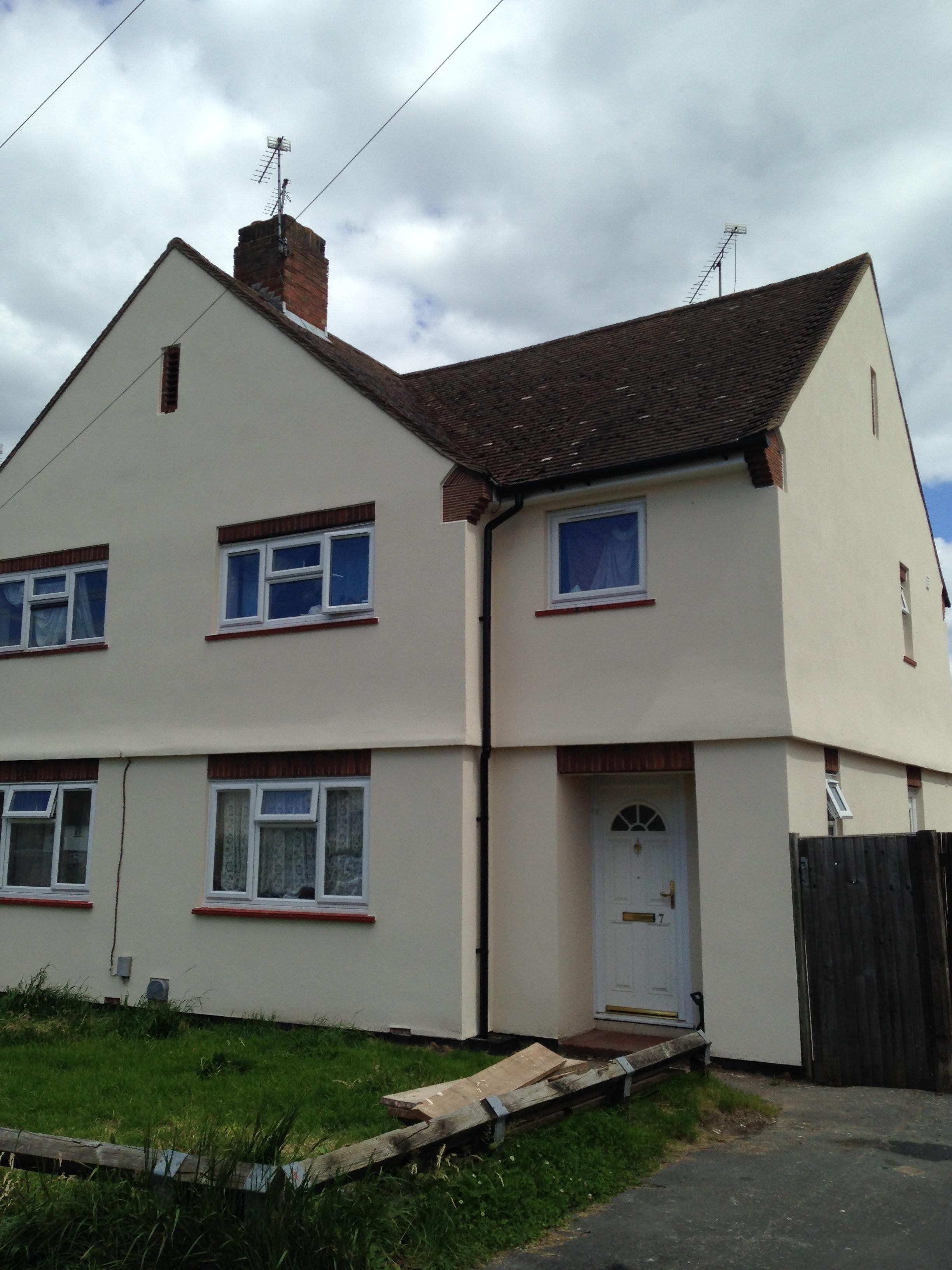 New Vision Homes- Woking. Housing Association Refurbishment Works
